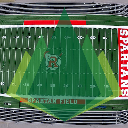 How We Completed a High School Turf Football Field in Only 12 Weeks